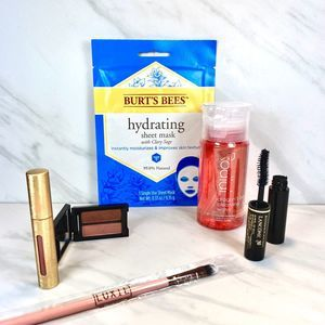 Burt's Bees, Lancome, Luxie Beauty Smashbox